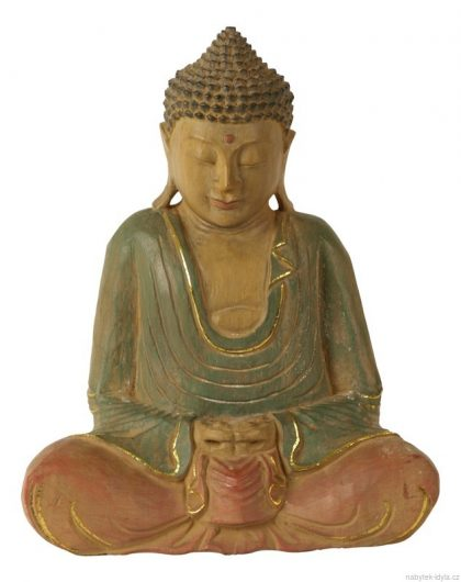 Budha - Dřevo 32cm
