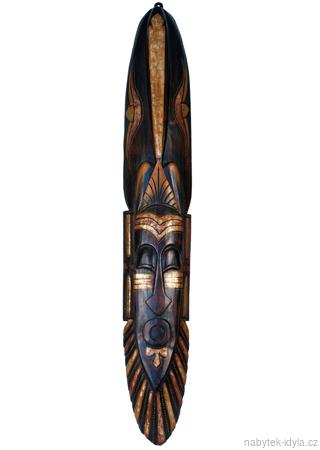 Dřevěná maska 100cm
