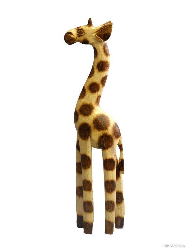 Žirafa dřevěná